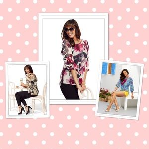NY&Co Sweet Pea Collection: Floral Blouse